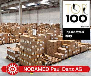NOBAMED Paul Danz AG Lager